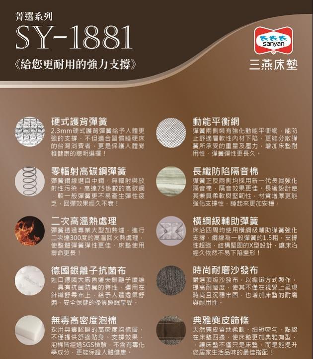 [ 菁選系列 ]  SY1881 1
